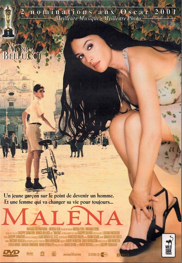 MALENA,MONICA BELLUCCI,FILM,CINEMA,DVD,VOIR