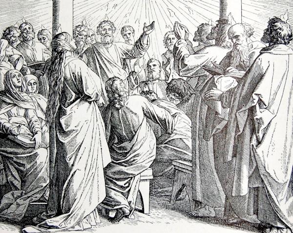 PENTECOSTE,PENTECÔTE