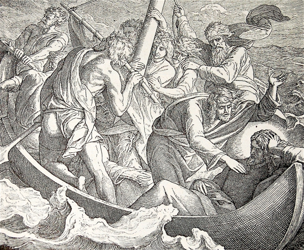 DANS LA TEMPÊTE, NELLA TEMPESTA,JESUS,VANGELO,ÉVANGILE