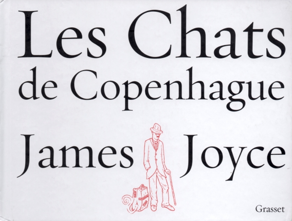 CHAT,JAMES JOYCE,LIRE,LIVRE,LES CHATS DE COPENHAGUE,ALBUM