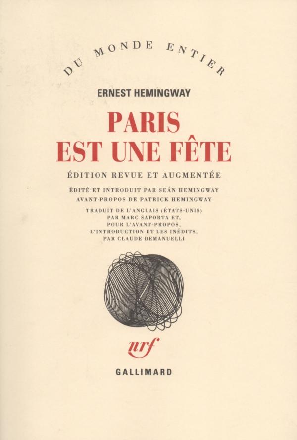 LIRE,LIVRE,PARIS,ERNEST HEMINGWAY
