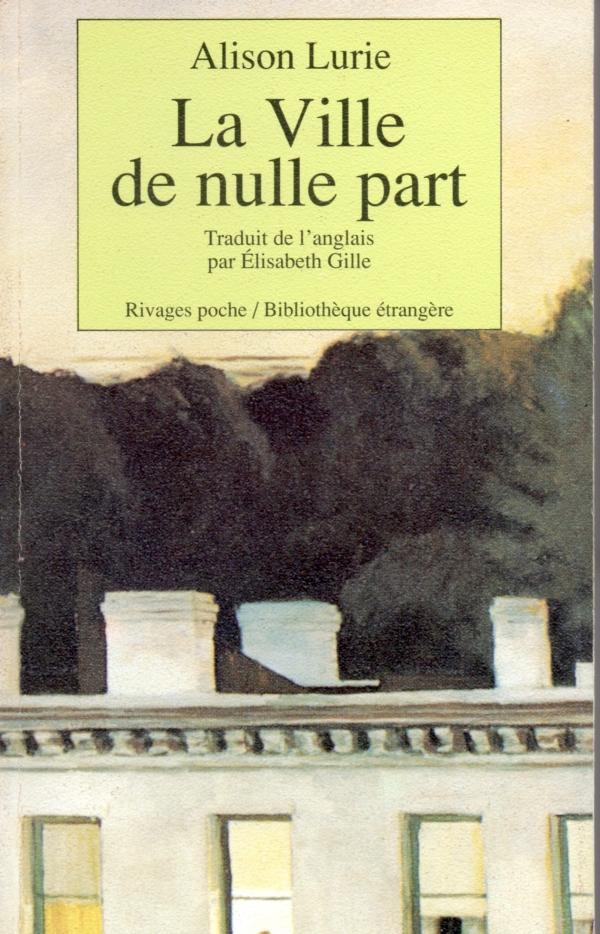 LA VILLE DE NULLE PART,LIRE,LIVRE,LITTÉRATURE ÉTRANGÈRE